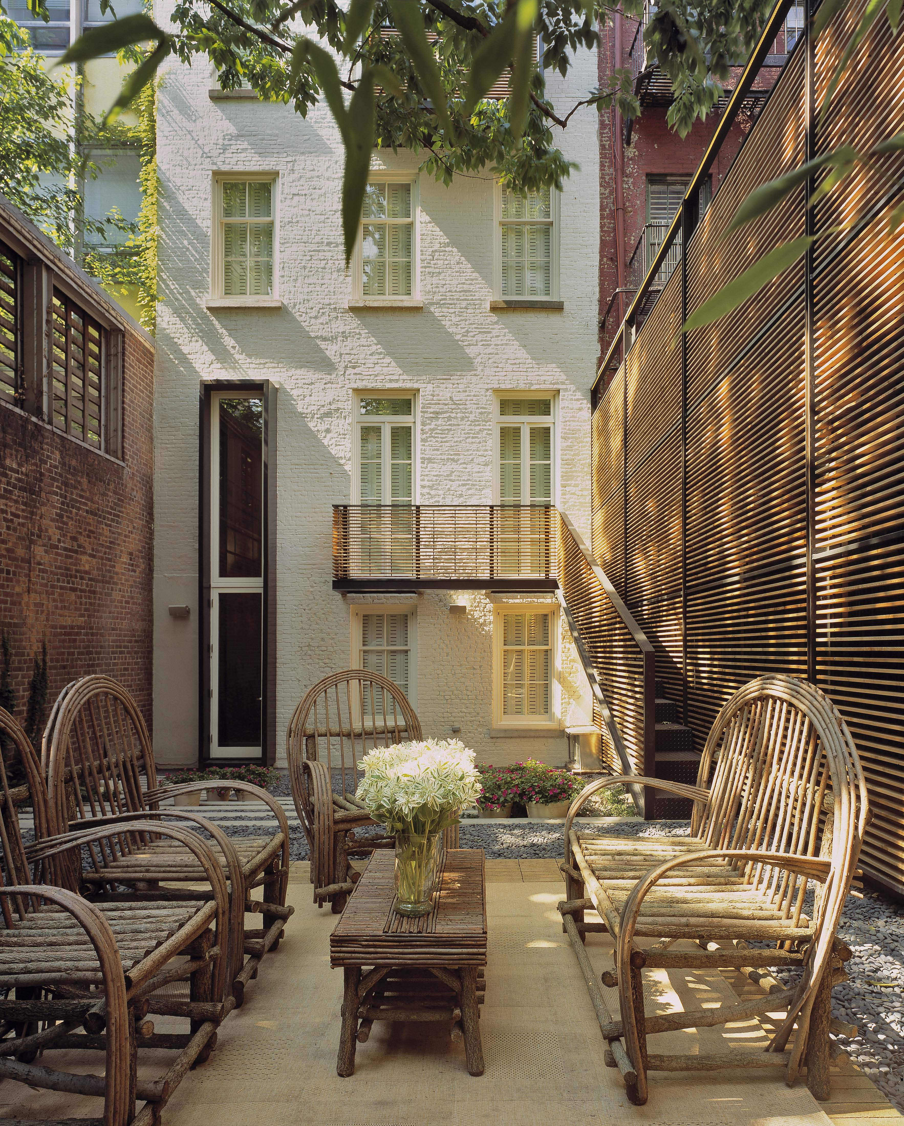Greenwich Village Townhouse - Melander Architects, Inc. on Townhouse Patio Ideas id=99943